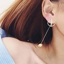 korean earings simple style korean fashion geometric earrings for women