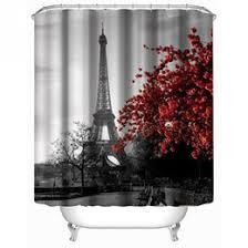 eiffel tower shower curtains online eiffel tower shower curtains