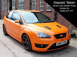 ford focus st3 3 dr orange manual amazing spec 35 000 miles 302bhp