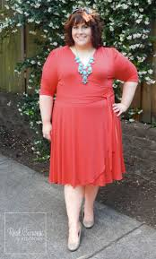 plus size coral dress for wedding hailey discourse of a 5 9 looks picture