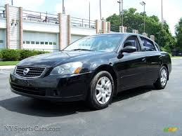 nissan altima 2005 colors 2005 nissan altima 2 5 s in super black 465373 nysportscars