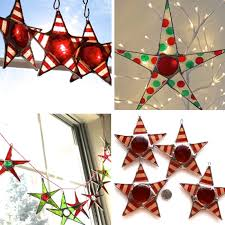 givethanksaway stained glass stars and twine closed u2013 made everyday
