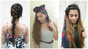 sacrf hairstyles no heat 2 minute hairstyles youtube