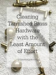 how to clean brass cabinet knobs want to the easiest way to clean tarnished brass