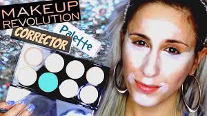 makeup revolution ultra base corrector palette review youtube