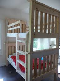 Simple Bunk Bed Plans White Simple Bunk Beds My Project Diy Projects