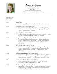 resume format for customer service dance resume examples resume for your job application dance teacher resume template