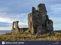The Fife Coastal Path Home Newark Castle Scotland Stock Photos U0026 Newark Castle Scotland Stock