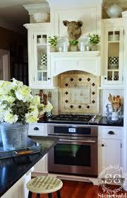 the summer farmhouse kitchen stonegable
