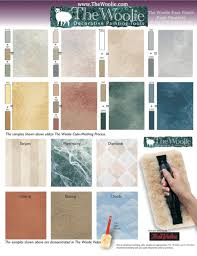 Paint Colors At Home Depot by True Value Faux Painting Color Sample Combinations By The Woolie