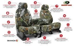Camo Bench Seat Covers For Trucks Mossy Oak Custom Seat Covers Camo Custom Seat Covers