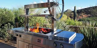 Home Rotisserie Design Ideas Argentinian Style Wood Fired Grill And Rotisserie K750gs Gaucho