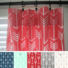Pink Gingham Shower Curtain Buffalo Check Curtain Panels Black Ecru Red Navy Light