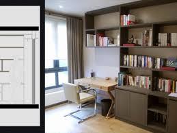 bibliothèque avec bureau intégré bibliothèque bureau intégré design meilleur de meuble bibliotheque