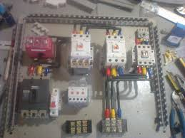 star delta phase motor automatic starter with timer electrical