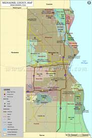 Map Of Usa States With Cities by Milwaukee County Map Wisconsin