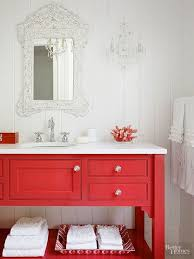 red bathroom ideas red bathroom vanity together with useful images as idea cool