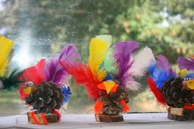 pinecone turkey craft suchthings