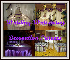 simply enchanting event purple and yellow wedding decoration