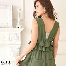dress shop rakuten global market all in one pants wide
