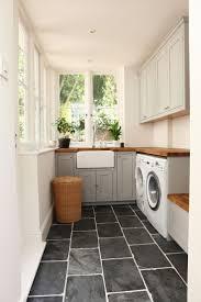 laundry gray slate mudroom floor tiles laundry room black slate