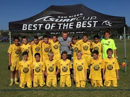 the sun shined on placer united at soccerloco surf cup placer united