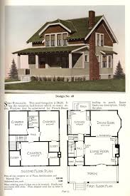 Four Square Floor Plan by United States 1925 Design 40 This Semi Bungalow U2014basically A