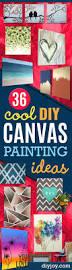 36 diy canvas painting ideas diy joy