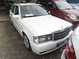 190e 1990 mercedes mercedes 190e 1990 2 0 in johor automatic sedan white for rm