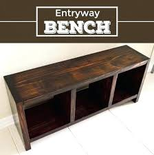 storage bench entryway creative cube bench storage storage bench