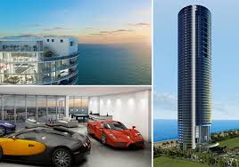 penthouse design porsche design tower penthouse includes space for 11 cars premier