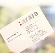aliexpress buy textured business card name card visit
