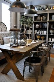 rustic kitchen table with bench beverage back cabinet square