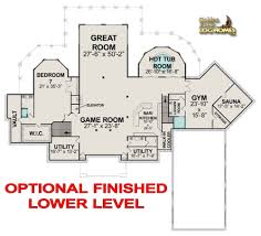 Floor Plans For Large Homes by Golden Eagle Log Homes Floor Plan Details Log Mansion 12865al