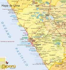 lima map travelling to lima