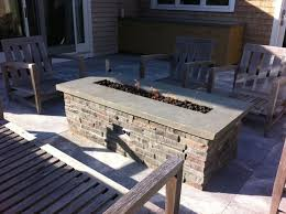 diy gas fire pit table outdoor goods