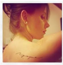 agape tattoo love the script ink a little never hurt