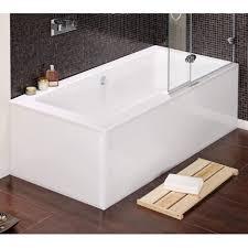baths acrylic double ended merganser square bath with cast