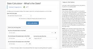 date calculator what s the date plusthis