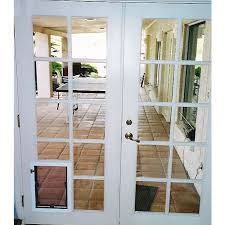Interior Pet Door For Cats Pet Doors For French Doors And Glass Petdoors Com