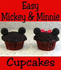 mickey mouse cupcakes easy minnie and mickey mouse cupcakes disney cooking