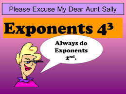 43 order of operations x meet aunt sally ppt video