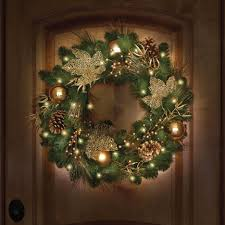 lighted wreath picture inspirations wreaths