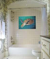 luxury bathroom tile murals in home design styles interior ideas