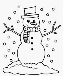 dancin snowman coloring snowman coloring