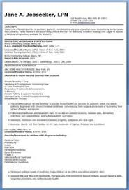 entry level lpn resume sample lvn nurse cover letter useful new