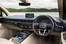 audi suv q7 interior audi introduces cheaper less powerful 160kw q7 in australia