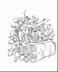 excellent fred flintstone coloring pages barney coloring