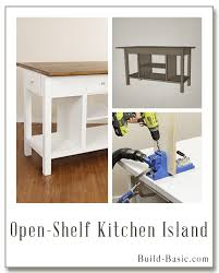 Kitchen Island Plans Diy Kitchen U2039 Build Basic