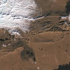 Snow In Sahara Snow In The Sahara Desert Earth From Space